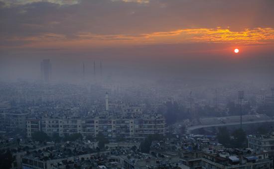Алеппо. Январь 2017 года