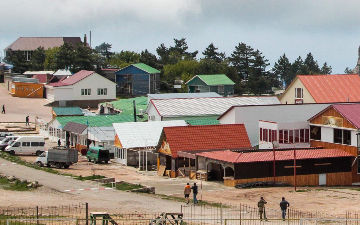 Жилые самострои в Крыму