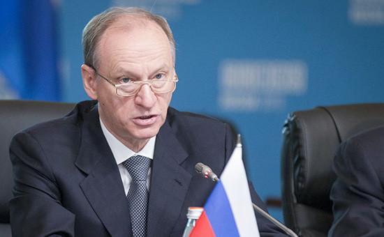Cекретарь Совета безопасности Николай Патрушев