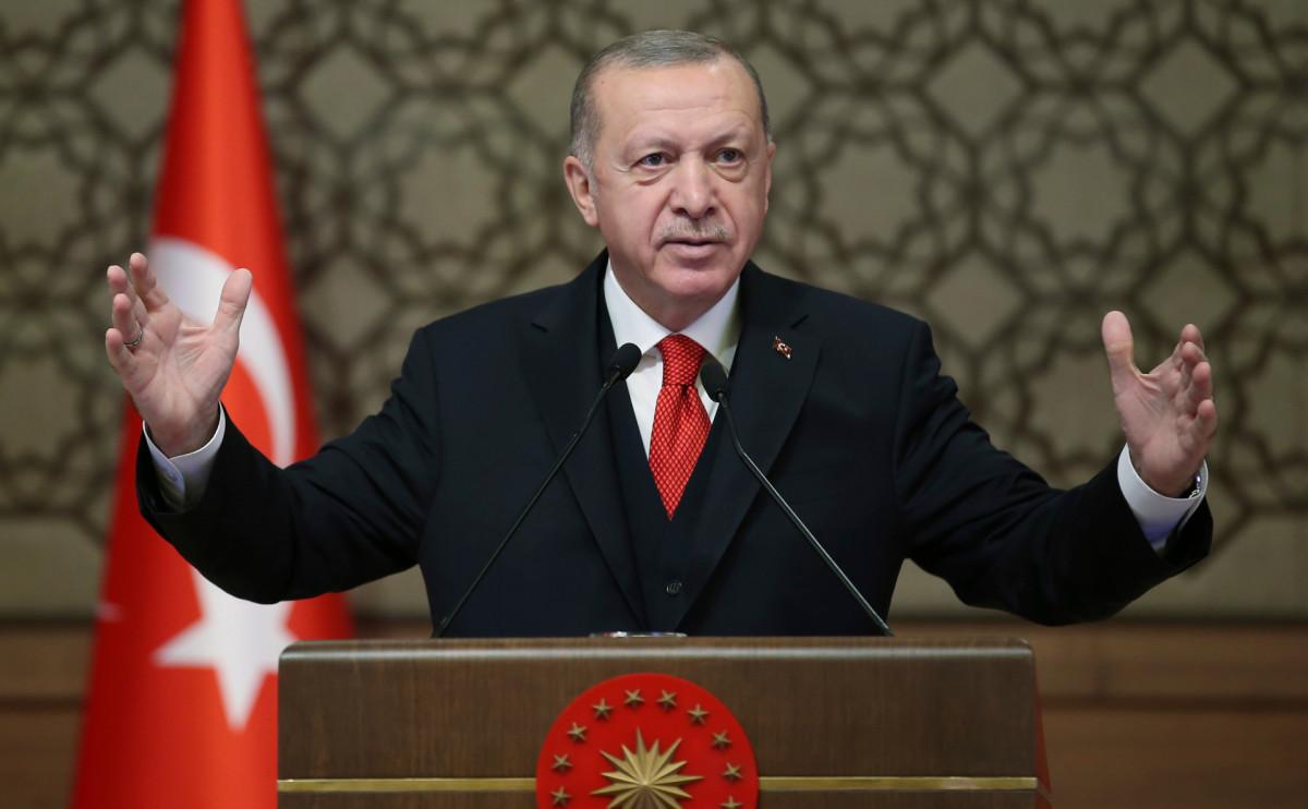Эрдоган допустил создание новой конституции Турции