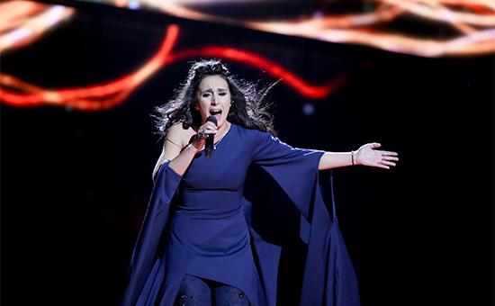 Представительница Украины певица Джамала