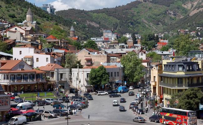 Тбилиси. Вид нагород