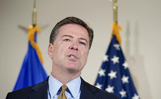 Директор ФБР Джеймс Коми на пресс-конференции по итогам расследования