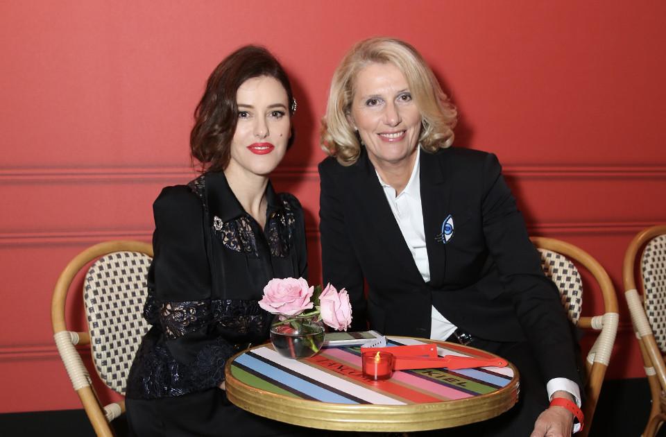 Лиза Элдридж и Франсуаза Леман