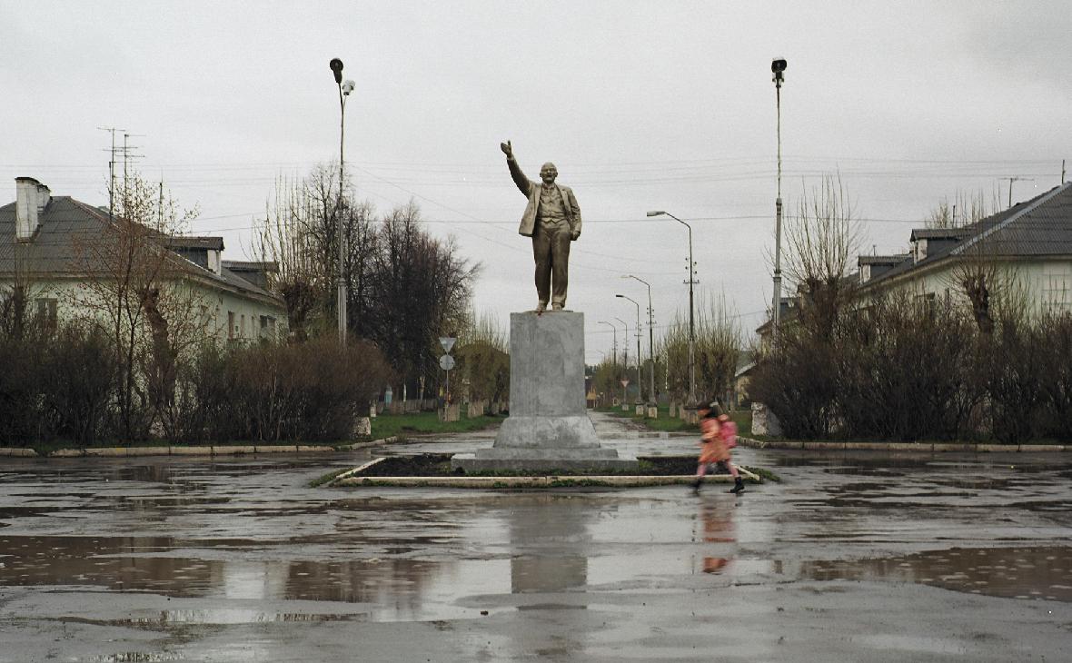 Памятник Ленину в городе Каменск-Уральский, Свердловская область