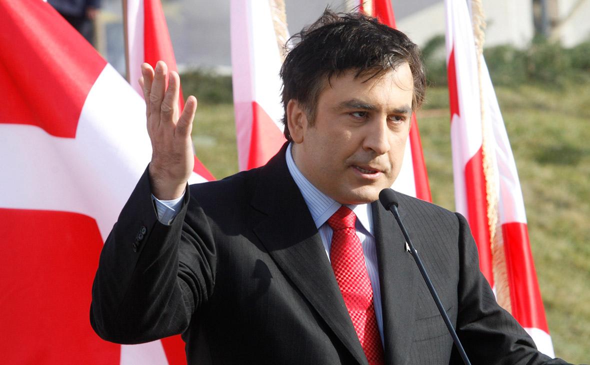 Михаил Саакашвили. 2008 год