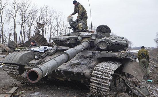 Ситуация на территории Донбасса