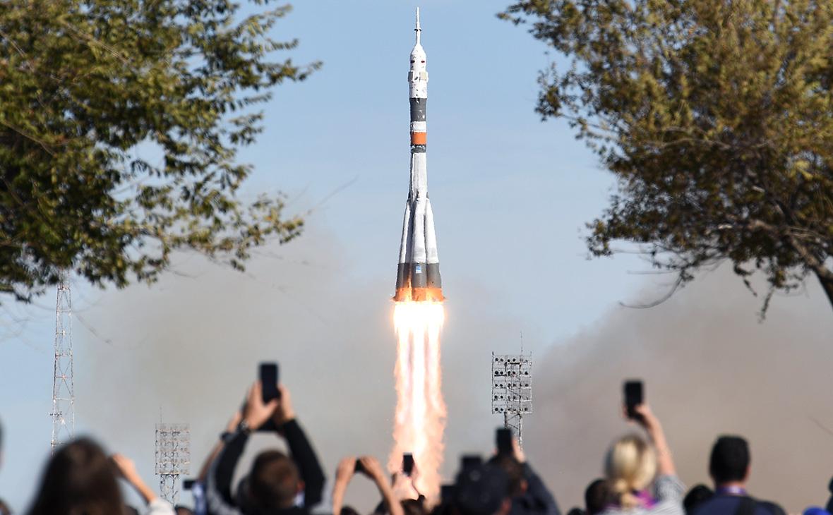 Запуск ракеты-носителя «Союз-ФГ»