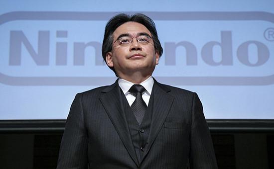 Гендиректор и президент японской компании Nintendo Сатору Ивата
