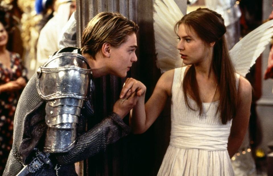 Кадр из фильма «Ромео + Джульетта»