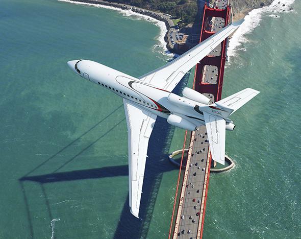 Фото: Dassault Falcon 8X