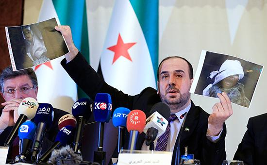 Член руководства Национальной коалиции оппозиционных и революционных сил (НКОРС) Наср аль-Харири