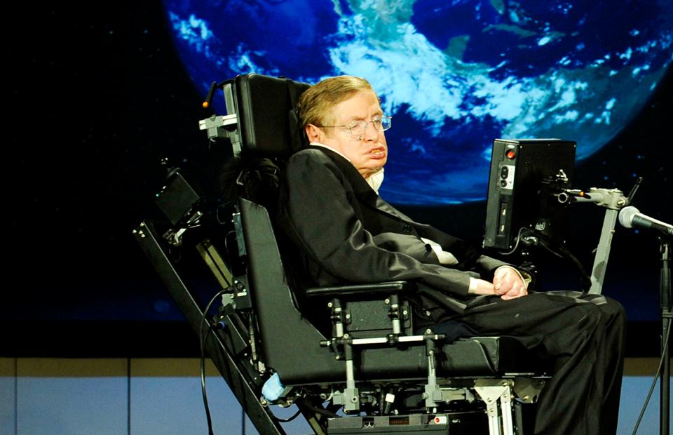 Стивен Хокинг, страдавший боковым амиотрофическим склерозом