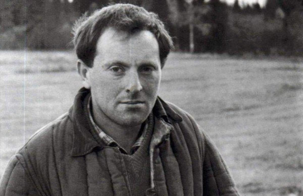Иосиф Бродский в ссылке на поселении в Архангельской области, 1965