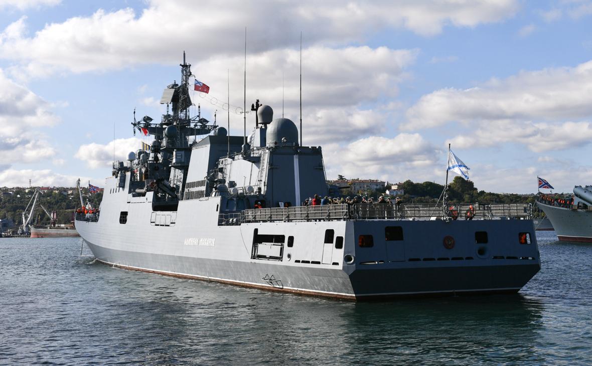 Фрегат «Адмирал Макаров»