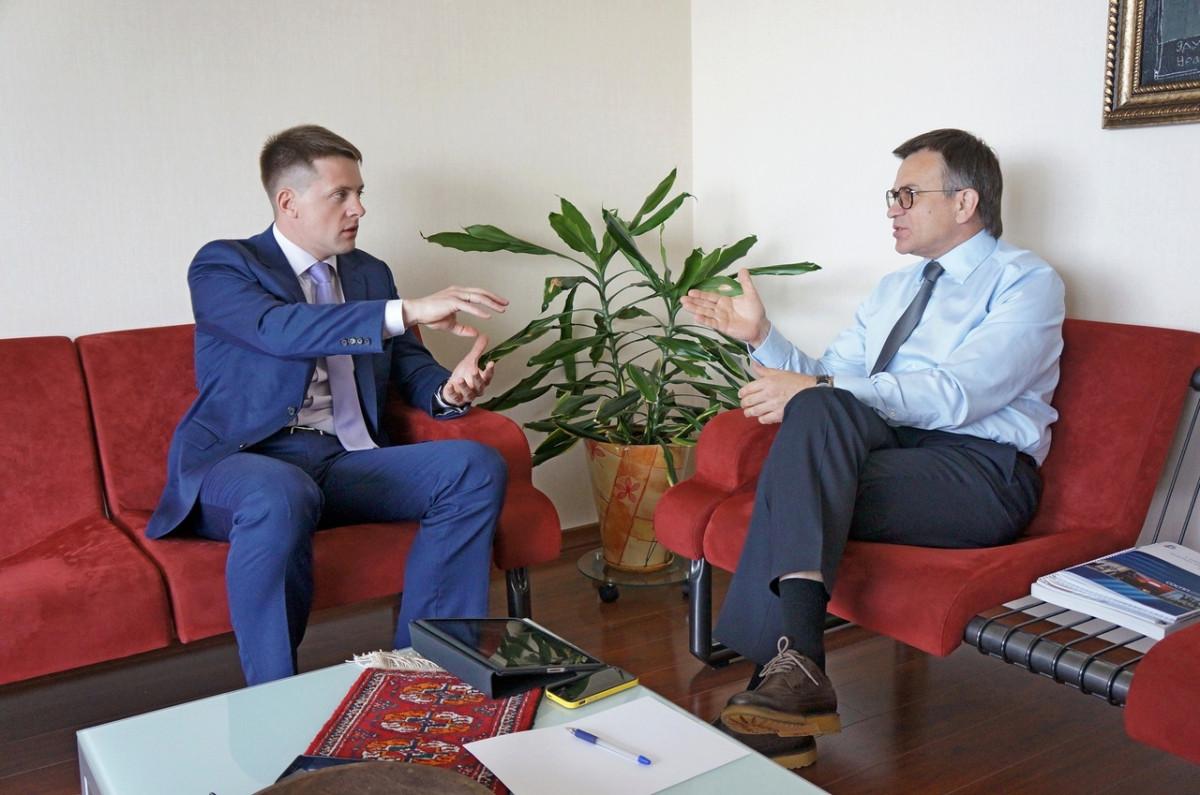 Виктор Долженко и Михаил Черепанов