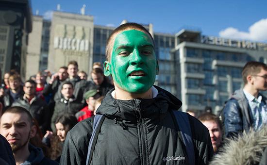Антикоррупционная акция 26 марта вМоскве