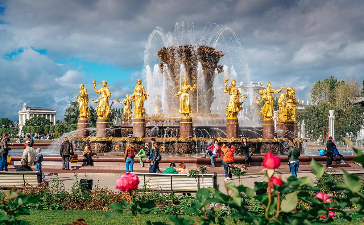 ВДНХ, фонтан «Дружба народов»
