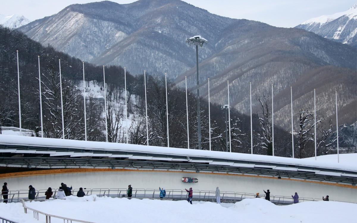 Олимпийская трасса в Сочи