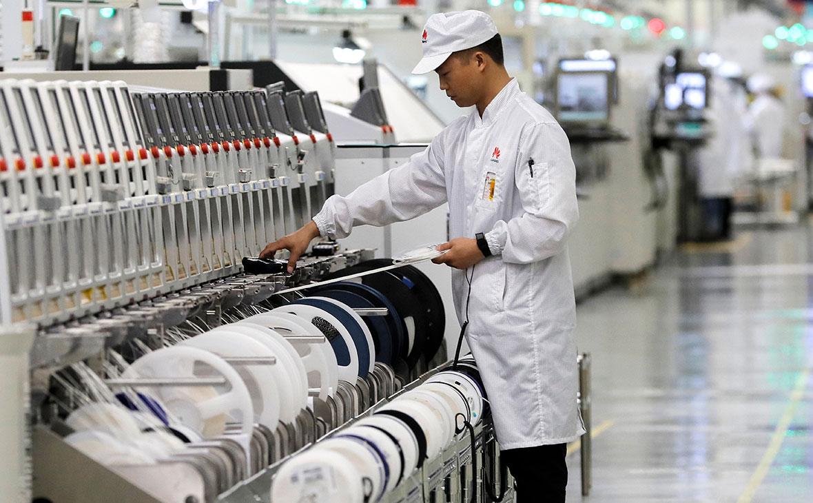 Завод компанииHuawei