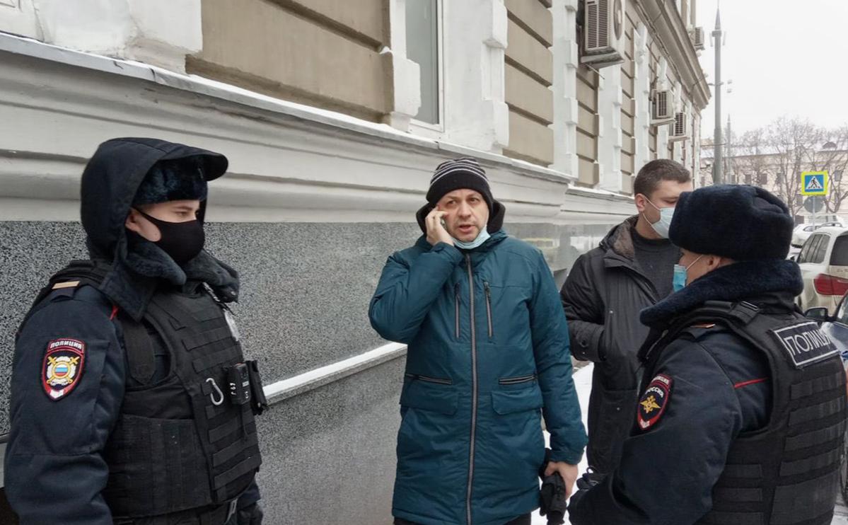 В Москве задержали главреда «Медиазоны»