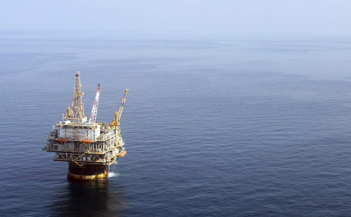 Нефтедобывающая платформа в Мексиканском заливе. 19 августа 2008 года