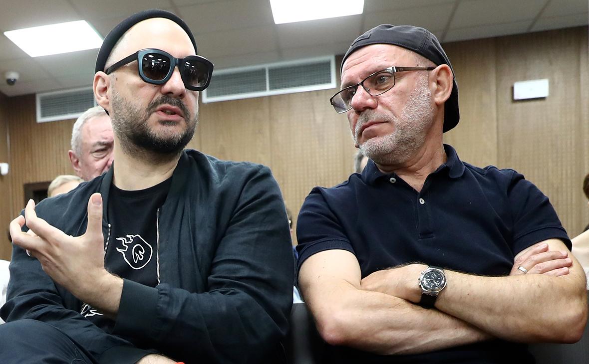 Кирилл Серебренников и Алексей Малобродский
