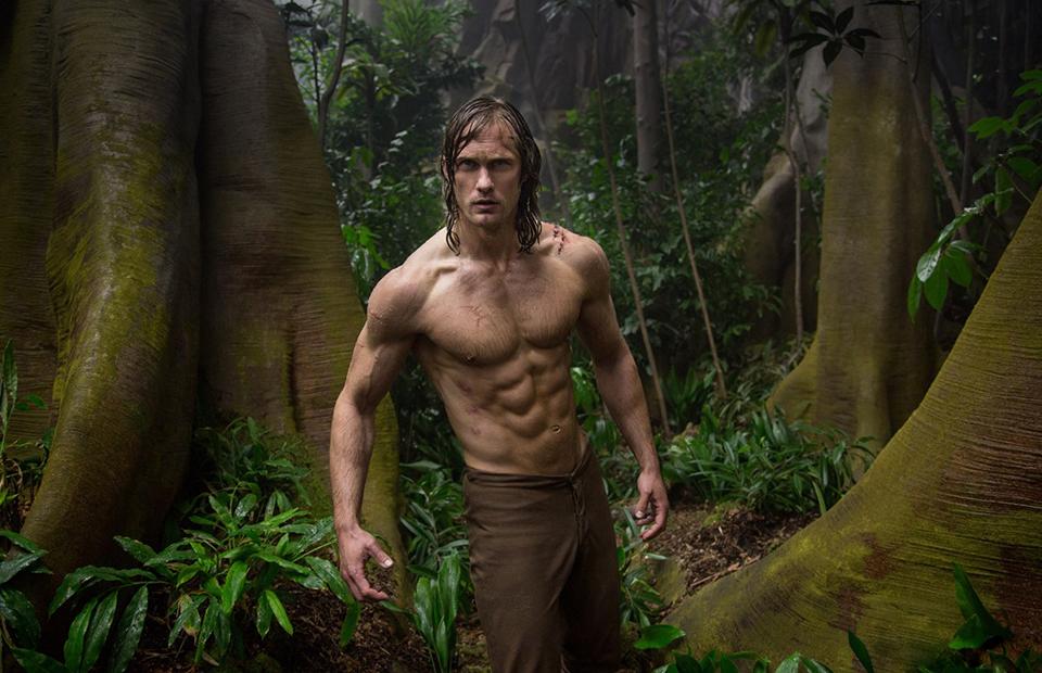 Кадр из фильма «Тарзан. Легенда»
