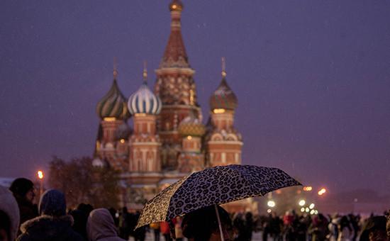 4 ноября 2016 года. Москва,Красная площадь