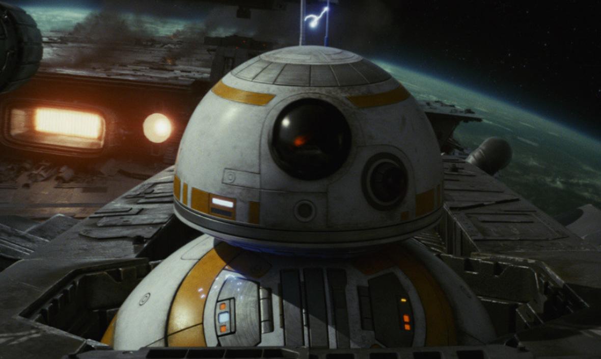Фото: кадр из фильма «Звездные войны: Последние джедаи»