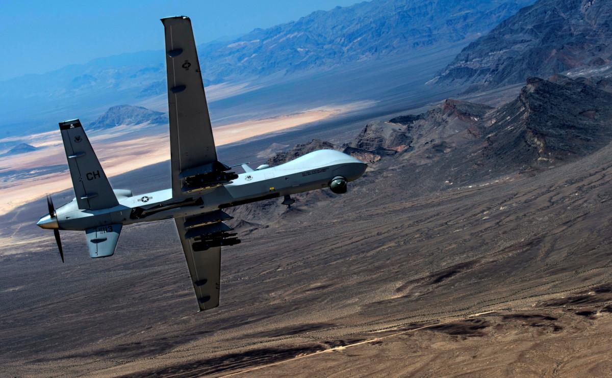 Ударный беспилотник MQ-9 Reaper