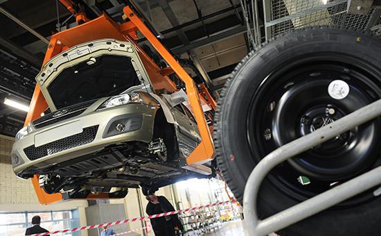 Серийное производство автомобиля Lada Largus назаводе ОАО«АвтоВАЗ»