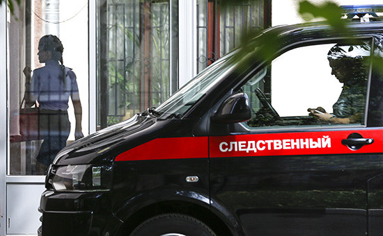 У здания Главного следственного управления СК РФ по Москве, где проходят обыски