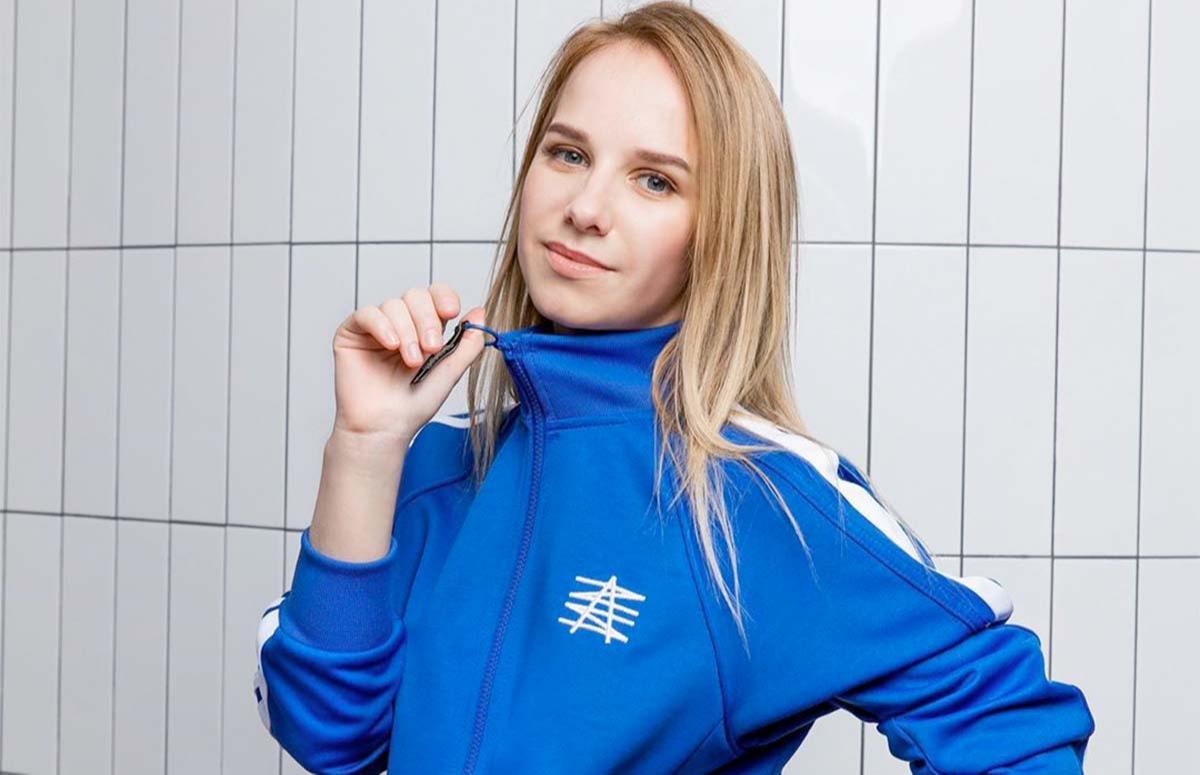 Надежда Жукова, съемка длялукбука Zasport