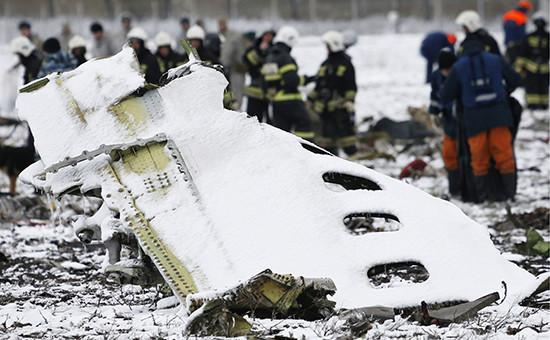Фрагмент фюзеляжа Boeing 737-800 flydubai, следовавшего помаршруту Дубай—Ростов-на-Дону. 19 марта 2003 года