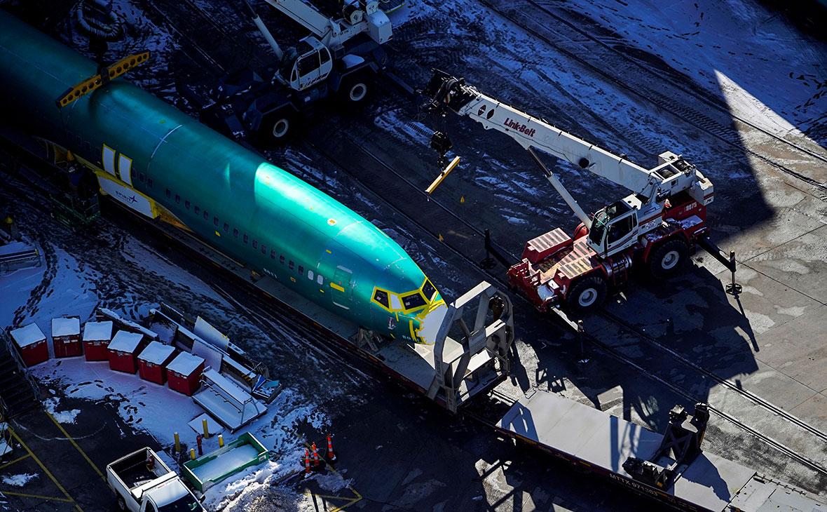 Фюзеляж самолета Boeing 737