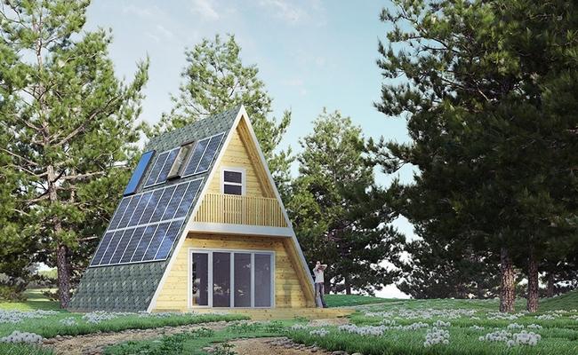 Полуавтономный энергоэффективный дом forrestА, использующий ресурсосберегающие технологии
