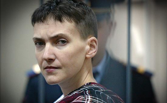 Военнослужащая Надежда Савченко