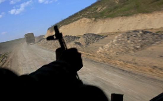 Военнослужащий в зоне карабахского конфликта