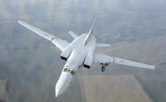 Российский стратегический бомбардировщик Ту-22М