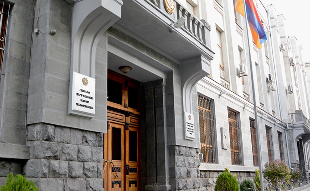 Задние Генеральной прокуратуры Армении