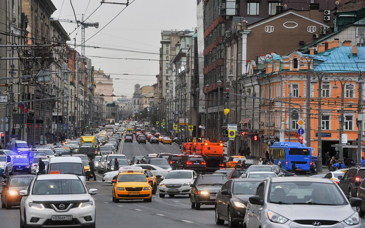 Первая Тверская-Ямская улица, Москва