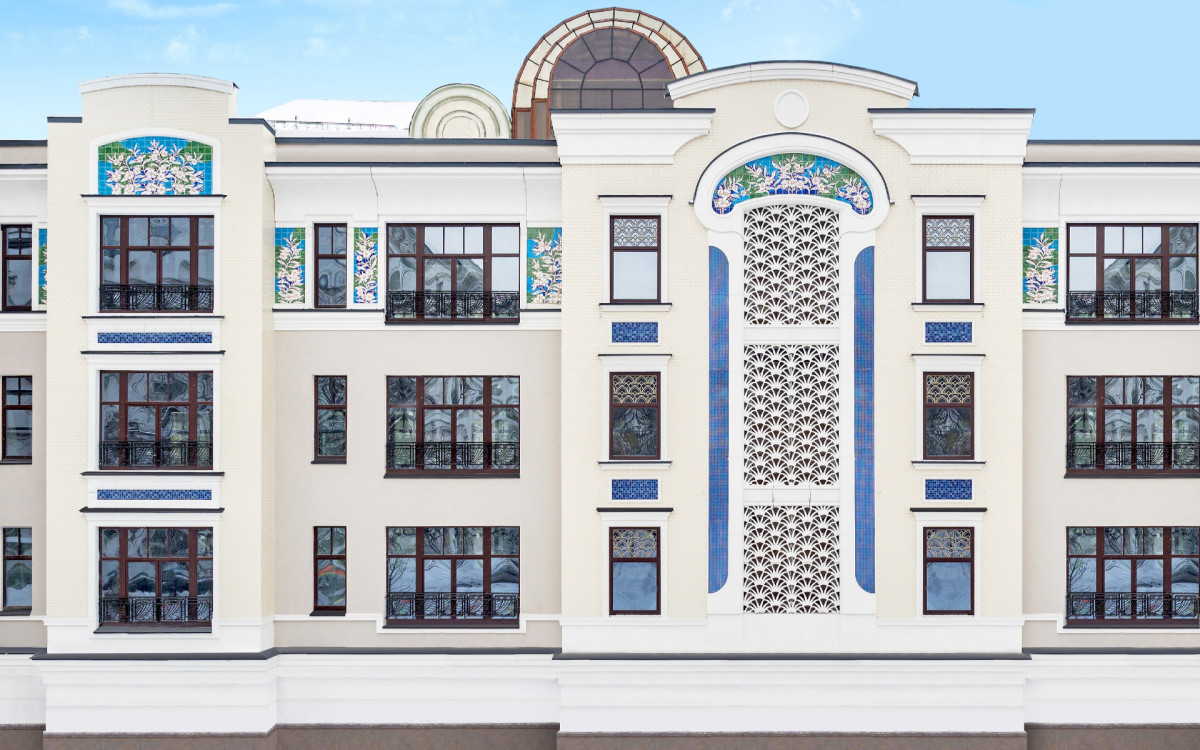 Фасад«Театрального Дома»