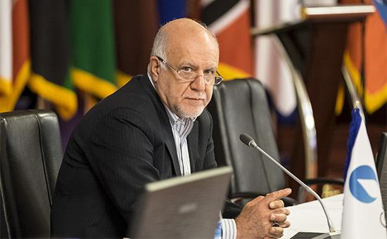 Министр нефти Ирана Биджан Зангане