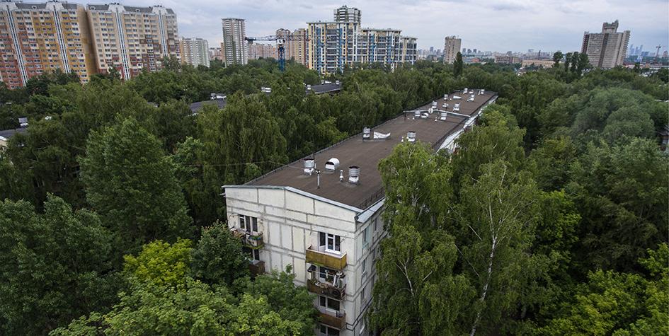 Пятиэтажка в Бескудниковском районе Москвы
