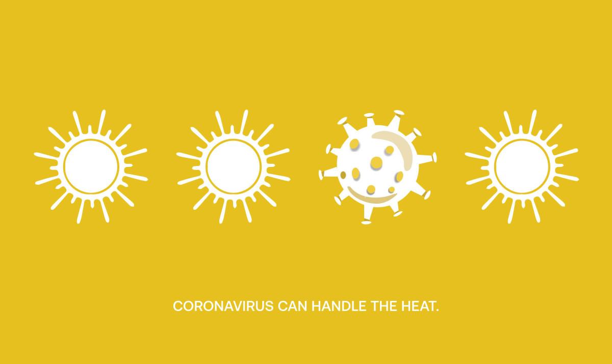 «Коронавирус устойчив к жаре»,памятка ООН