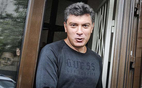 Сопредседатель движения «Солидарность» Борис Немцов
