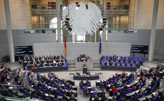 Заседание бундестага