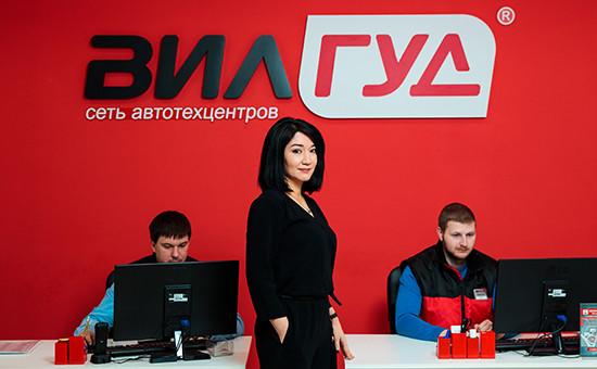 Одна изоснователей сети автосервисов «Вилгуд» Барно Турсунова