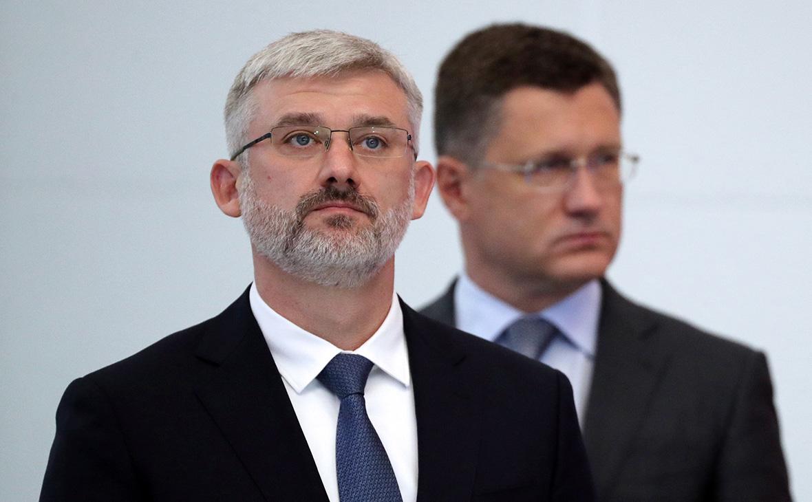 Евгений Дитрих (слева) и Александр Новак
